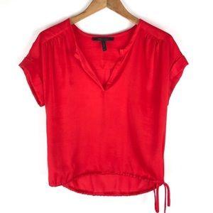 BCBGMAXAZRIA Red top. Size XXS